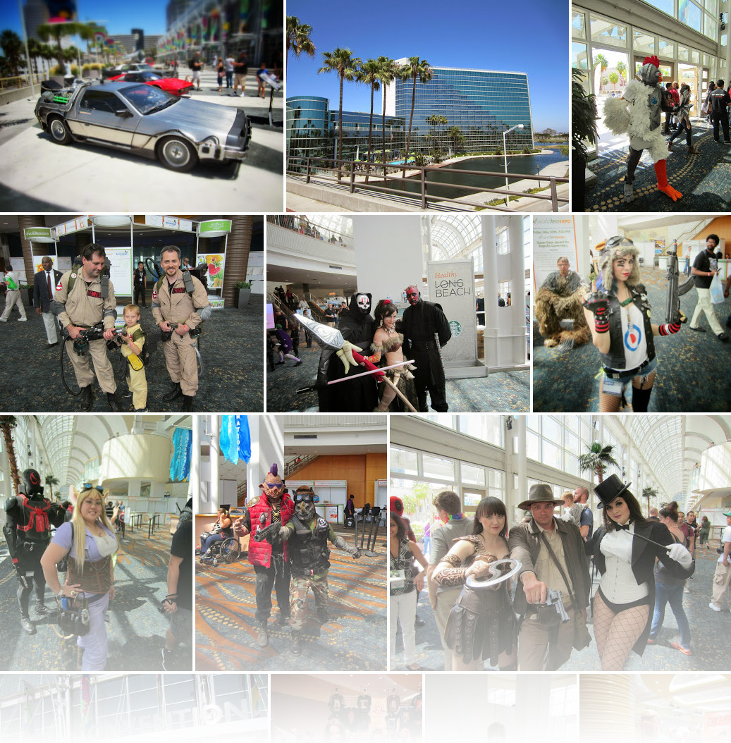 The Long Beach Comic Expo (2014)